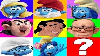 The Boss Baby vs The Smurfs Lost Village Slime Game Part 3 - Trolls Movie Ellie Sparkles