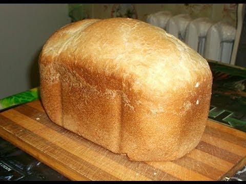 видео как испечь белый хлеб