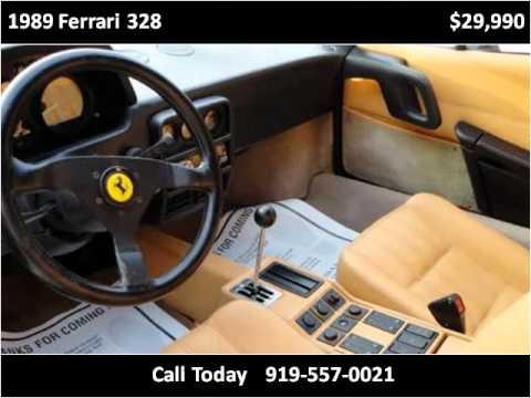 Xxx Mp4 1989 Ferrari 328 Used Cars FUQUAY VARINA NC 3gp Sex