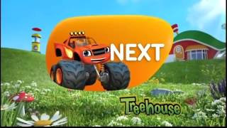 """Treehouse TV """"Coming Up"""" bumper - Blaze and the Monster Machines (2014)"""