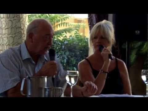 Eddie Richardson & Martina Cole. North Cyprus.5