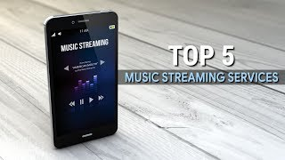 Top 5 Best Music Streaming Services
