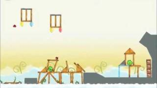 Official Angry Birds Walkthrough Danger Above 8-14
