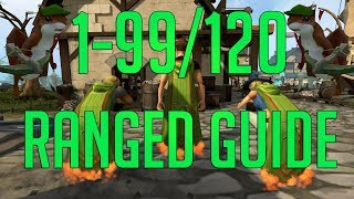 Runescape 3 - 1-99/120 Ranged guide 2018