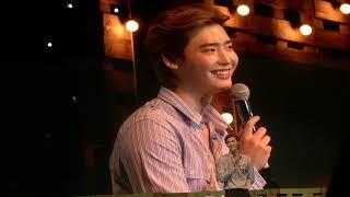 "[2018-09-15] Lee Jong Suk Fan Meeting in Bangkok - Singing ""Com To Me"" + Talk"