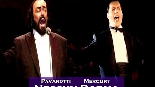 Mercury and Pavarotti Nessun Dorma (MARC MARTEL)