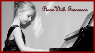 Francesca's Winter Piano Recital 2014/ Talented 6 year old girl performs her sixth piano recital.