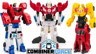 Transformers RID Combiner Force Optimus Prime Bumblebee Skyhammer Primesky Sideswipe Car Robots Toys