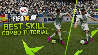 FIFA 16 SKILL COMBO TUTORIAL / BEST SKILL MOVES COMBINATION IN FIFA 16 ULTIMATE TEAM & H2H