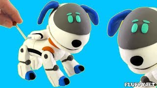 Paw Patrol Cartoons for Children from FluffyJet Kids - Play Doh Stop Motion Videos for Kids