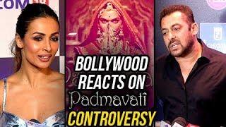 Padmavati Controversy   Bollywood REACTS   Salman Khan, Malaika Arora, Arbaaz & Celebs