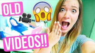 REACTING TO OLD VIDEOS W/ MIA!!! Alisha Marie!