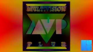 Multivision Plus Ident 1992 Enhanced with Diamond Classic