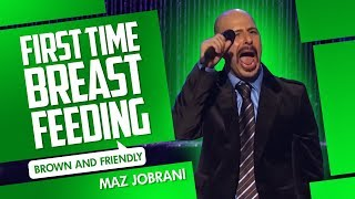 """First Time Breast Feeding"" - Maz Jobrani (Brown & Friendly)"