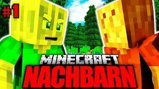 Der WETTKAMPF GEHT LOS?! - Minecraft Nachbarn #001 [Deutsch/HD]
