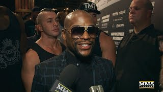 Floyd Mayweather on Conor McGregor: 'I Know He's Struggling to Make Weight' - MMA Fighting
