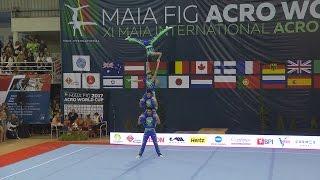 Ginástica: Maia International Acro Cup 2017