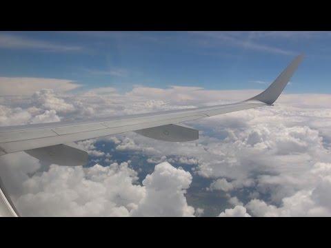 FULL FLIGHT of Lufthansa Embraer 190 / FRA - LNZ / FULL HD