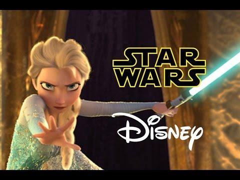 Star Wars Disney Let it Flow Let it Go Frozen Parody