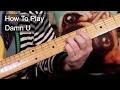 'Damn U' Prince Guitar Lesson