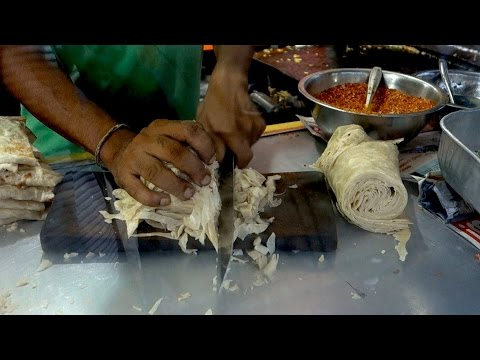Kottu roti recipe // Authentic Sri Lankan street food recipe // Sri Lankan chopped bread