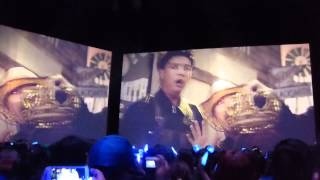 "150422 D&E Surround Viewing In Chile ""Mamacita MV + fanchant"""