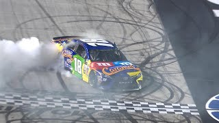 Kyle Busch wins Cup race at Bristol to complete sweep