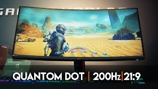 """An EPIC 35"""", 200Hz, HDR Gaming Monitor! - ASUS PG35VQ"""