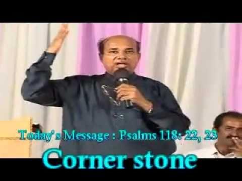 Corner Stone Message By Bro. P G Vargis