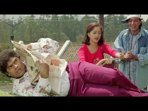 Jonny Lever And Mithun Chakraborty Comedy Scene