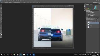 شرح تعديل صور السيارات باحتراف بالتفصيل على الفوتوشب Denhel Photographer | CC