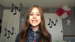 Million Reasons by Lady Gaga- A Cappella Cover by 9 year-old Presley Noelle