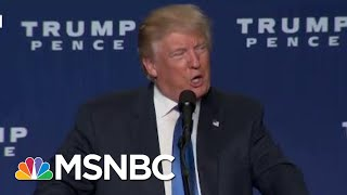 Hypocrisy: Watch Trump Get Demolished Over Hacked iPhone   The Beat With Ari Melber   MSNBC