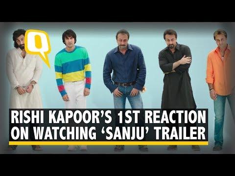 Xxx Mp4 Rishi Kapoor And Neetu Singh React To 39 Sanju 39 Trailer Starring Ranbir Kapoor 3gp Sex