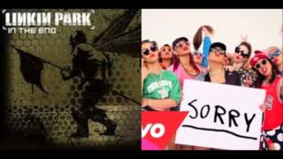 Sorry,the end(justin bieber vs.linkin park)