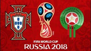 FIFA 18 - PORTUGAL VS MOROCCO WORLD CUP 2018
