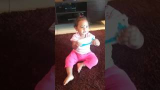 Baby dancing for google song