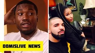 Meek Mill Upset after Drake Nicki Minaj Pictures & Deactivates Instagram (The Game Trolls Meek)