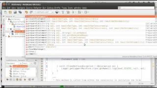 Java swing dictionary example