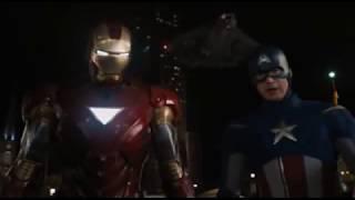 Iron Man e Captain America VS Loki Ita