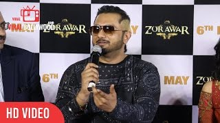 Yo Yo Honey Singh Full Speech At ZORAWAR Trailer Launch | Viralbollywood