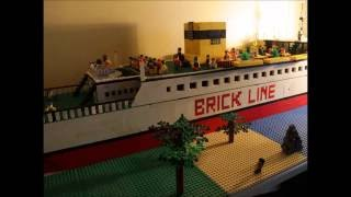 Making a Lego Ship in Stop Motion 3