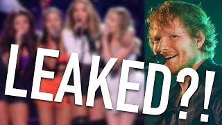 LITTLE MIX LEAKED MUSIC VIDEO EXCLUSIVE + ED SHEERAN BRITS 2017