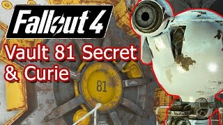Fallout 4 | Vault 81 Secret | Recruting Curie | Hole in the Wall Mission