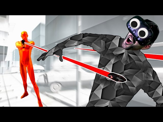 ONLY I CONTROL TIME! | SuperHot VR