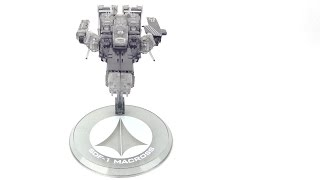 Megahouse Cosmo Fleet Midnight Smoke Clear SDF 1 Review