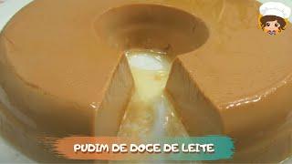 PUDIM DE DOCE DE LEITE QUE NÃO VAI AO FORNO🍩 - MIL DELÍCIAS NA COZINHA