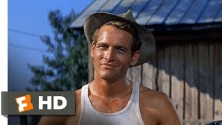 The Long, Hot Summer (1/3) Movie CLIP - You Talk a Lot (1958) HD