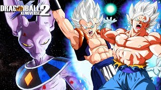 THE FINAL BATTLE! Mastered Ultra Instinct Vegito And Gogeta Vs Beerus   Dragon Ball Xenoverse 2 Mods