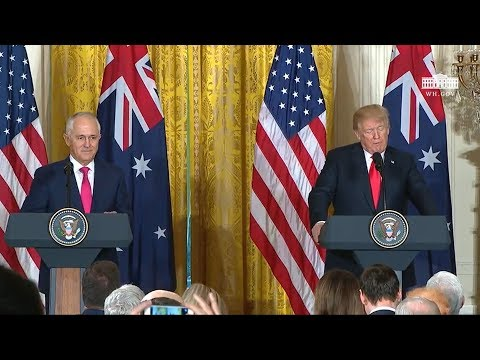 Xxx Mp4 President Trump Holds A Joint Press Conference With Prime Minister Turnbull 3gp Sex